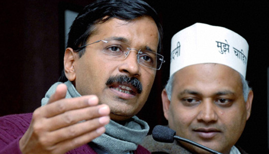 Now, AAP targets media, calls it Delhi police spokesperson