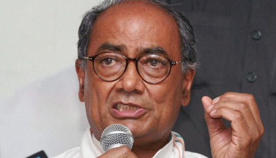 Digvijay Singh compares RSS with Ravana