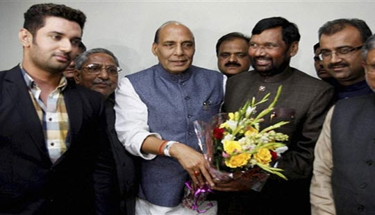 Chirag Paswan defends BJP-LJP alliance, says it's issue based