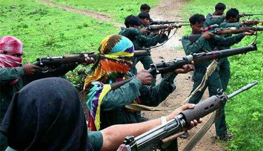 Six policemen killed in Naxal ambush in Chhattisgarh's Dantewada