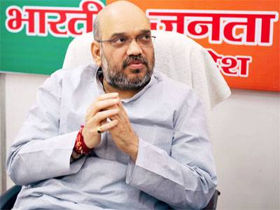 Amit Shah meets Members of Parliament from Rajasthan state (Update-Amit Shah)