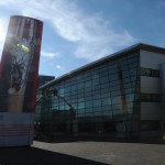 Time lapse of Daily Record office ahead of Glasgow 2014 Commonwealth Games