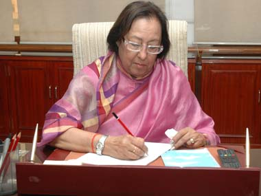 """Najma Heptullah clears up that she said """"Hindi"""" not 'Hindu', as we are all Indians"""