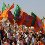 BJP_flags_AFP3