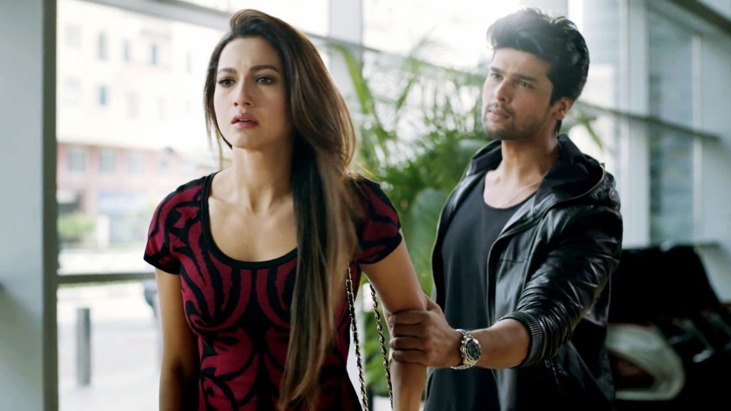 Kushal Tandon and Gauhar Khan Wallpaper