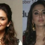 Preity & Huma Dazzle At Mumbai Film Festival