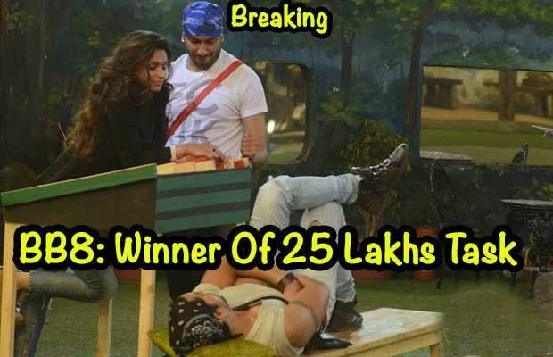 Bigg Boss 8 Halla Bol Breaking: Winner Of Rs 25 Lakh Task