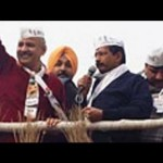Arvind Kejriwal's 7-km roadshow: Flashmobs, slogans and a show of strength