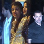 Bollywood Stars Attend Bachchan's Wedding Party For Kunal & Naina