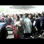 Hundreds queue up outside Kathmandu airport in hope of way out