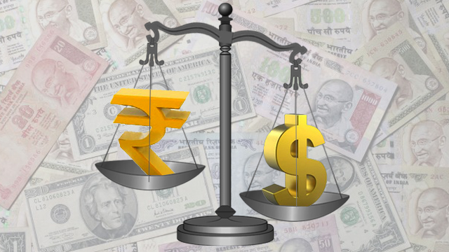 Rupee insignificantly up against dollar